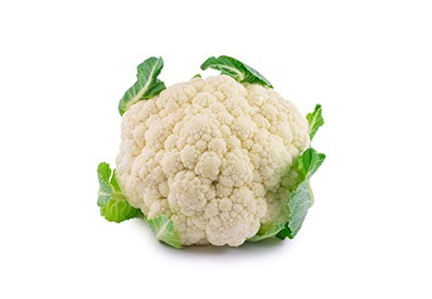 Dutch cauliflower is available from May to November.
