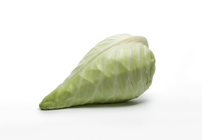Dutch oxheart cabbage is available from May to March.